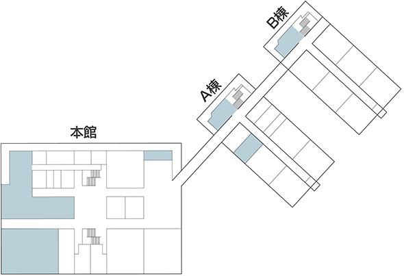 大学構内図1F