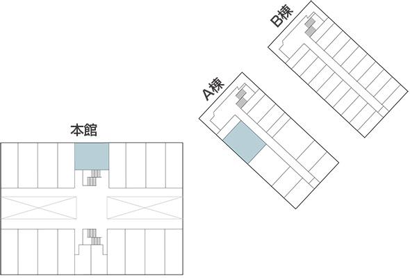 大学構内図2F